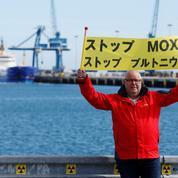 Du combustible nucléaire Mox est arrivé à Cherbourg pour rejoindre le Japon, selon Greenpeace