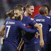 Avec un duo Griezmann-Benzema de feu, les Bleus retrouvent le sourire