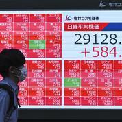 Bourse de Tokyo: 8ème hausse d'affilée, le Nikkei au-dessus des 30.000 pts