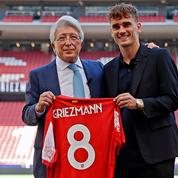 Nouveau club, nouveau maillot et nouvelle coupe ... Griezmann aux anges pour ses retrouvailles avec l'Atlético Madrid