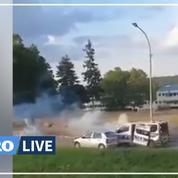 Corbeil-Essonnes : après les violences urbaines, des policiers en patrouille pris à partie