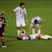 «J'ai senti ma jambe se dérober par-derrière»: Messi a eu très peur face au Venezuela