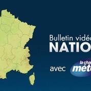 Météo : cinq départements en alerte orange pour risque d'orages