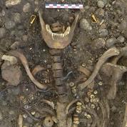 Parures d'or et scramasaxe : une nécropole de l'Antiquité tardive exhumée en Alsace