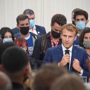 Réforme des retraites : «On fera ça quand on tombera les masques», dit Macron