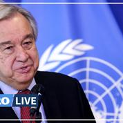Afghanistan : le secrétaire général de l'ONU réclame «un dialogue» avec les talibans
