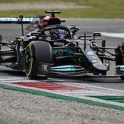 F1 : avant les qualifications, Hamilton écrase les premiers essais libres à Monza