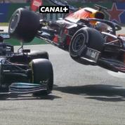 F1, GP d'Italie : l'incroyable accrochage entre Verstappen et Hamilton, contraints à l'abandon (vidéo)
