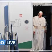 «La mèche de l'antisémitisme en Europe doit être désamorcée», prévient le pape à Budapest