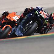 MotoGP : Victoire de Bagnaia en Aragon, Quartararo seulement 8e