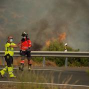 Espagne : l'incendie près de Malaga toujours en cours, 6000 hectares déjà décimés