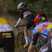 Cyclisme : L'astuce géniale d'un gamin pour se faire remarquer par ses idoles