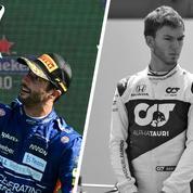 Tops/Flops GP d'Italie : Ricciardo a le sourire, Gasly broie du noir
