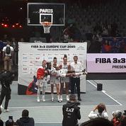 Après les JO, le basket 3x3 a enflammé le Trocadéro
