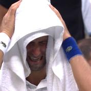 Moment magique à l'US Open, acclamé par le public... Djokovic en pleurs sur sa chaise