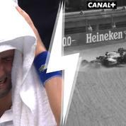 L'émotion de Djokovic, l'accrochage Verstappen-Hamilton... Nos tops et flops du week-end sport