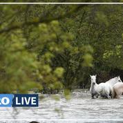 Orages : le Gard se confine sous la menace des inondations