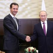 Vladimir Poutine critique l'ingérence étrangère en Syrie lors d'une rencontre avec Bachar al-Assad