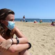 Pyrénées-Atlantiques : l'obligation du port du masque allégée sur le littoral