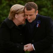 Emmanuel Macron reçoit une dernière fois Angela Merkel