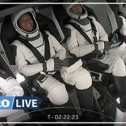 Suivez en direct le lancement de la première mission de tourisme spatial de SpaceX