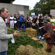 Algues vertes : face à face tendu entre militants et agriculteurs