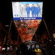 Les premiers astronautes de la station spatiale chinoise sont revenus sur Terre