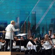 Le philharmonique de New York de «retour à la maison» après 18 mois dans le noir