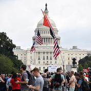 Au Capitole, un dispositif ultra-musclé pour les manifestants en soutien des pro-Trump
