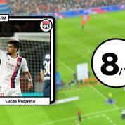 Les notes après PSG-Lyon : Paqueta superstar, Messi inégal