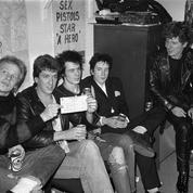 Des images inédites de deux concerts des Sex Pistols vendues aux enchères