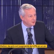Il n'est «pas question» de modifier le taux du livret A pour le moment, déclare Bruno Le Maire