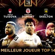 Dupont, Skelton et Tuisova en lice pour le prix de Meilleur joueur du Top 14