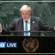 La COP26 sur le climat, «tournant pour l'humanité», selon Boris Johnson