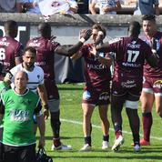Top 14 : Urios (Bordeaux-Bègles) ressort du match «avec les glandes»