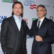 Brad Pitt et George Clooney font monter les enchères sur leur futur thriller