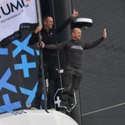 Voile : après leurs galères passées, Le Cléac'h et Escoffier sortent vainqueurs de leur première course en Ultim