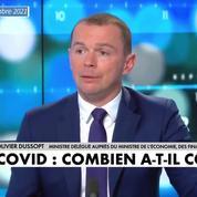 Le Covid a coûté entre 170 et 200 milliards d'euros à l'État, selon Olivier Dussopt