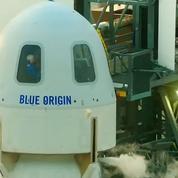 Prochain vol de tourisme spatial de Blue Origin le 12 octobre