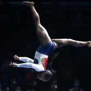 Gymnastique : «J'aurais dû abandonner bien avant Tokyo», confie Biles