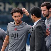 Foot : Marquinhos prêt à terminer sa carrière au PSG