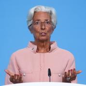La BCE ne doit pas «surréagir» aux effets transitoires sur l'inflation, selon Christine Lagarde