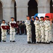 L'hommage de la nation au sergent Maxime Blasco