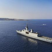 À bord de l'Aconit ,des yeux et des oreilles en Méditerranée orientale