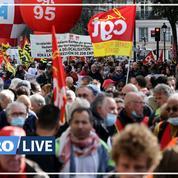 «Nous serons là demain» : dans les rues de Paris, les syndicats avertissent les candidats à 2022