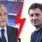 «Que cela cesse maintenant» : passe d'armes entre Perez et Leonardo au sujet de Mbappé