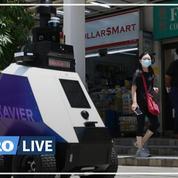 Des robots patrouilleurs à Singapour suscitent des craintes sur une surveillance exacerbée