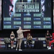 Boxe : Fury et Wilder empêchés de se mettre face à face en conférence de presse