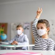 Masque à l'école : l'obligation levée ce lundi pour 12 nouveaux départements