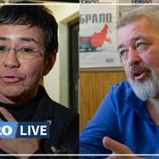 Le Nobel de la paix attribué à deux journalistes, la Philippine Maria Ressa et le Russe Dimitri Muratov